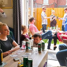 Manchester Couple Trick People Into Thinking They Had An 'Isolation Party'