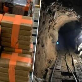 DEA Seize $29 Million Worth Of Drugs From Huge Smuggling Tunnel Under US-Mexico Border