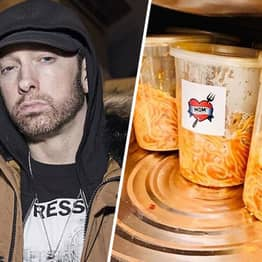 Eminem Donates Mom's Spaghetti To Frontline Caregivers In His Hometown Of Detroit