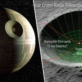 NASA Wants To Turn Moon Into A Telescope That Looks Like The Death Star