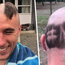 Guy From Somerset Shaves NHS Into His Head In Show Of Support For Our Carers