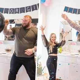 Game Of Thrones' The Mountain Announces He's Having A Baby Boy With Gender Reveal