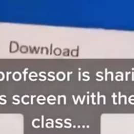 Florida Professor Fired After Students Notice 'College' Porn Bookmark In Zoom Screen Share