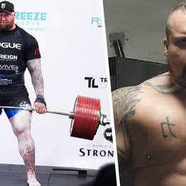 The Mountain Says He's Going To Knock Out Eddie Hall