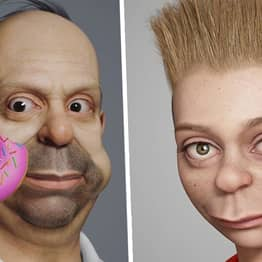 Character Artist Hossein Diba Turns Simpsons Characters Into Real People And It's Slightly Terrifying