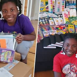10-Year-Old Girl Sends More Than 1,500 Art Kits To Children In Care During Pandemic