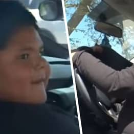 Five-Year-Old Who Was Pulled Over Gets Ride In Dream Lamborghini