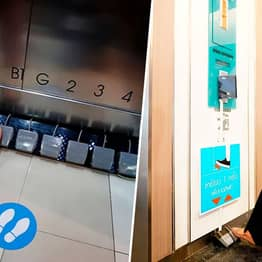 Mall Replaces Lift Buttons With Foot Pedals To Reduce Spread Of Coronavirus