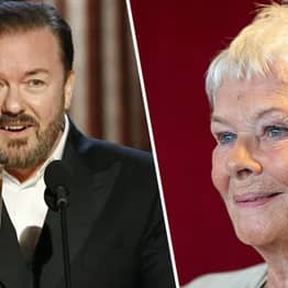 Ricky Gervais Needed 15 Lawyers Before He Could Tell Dame Judi Dench Joke At Golden Globes