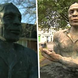 Black Actor Alfred Fagon's Statue Doused In Bleach-Like Liquid In Bristol