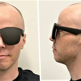 Facebook's Amazing New Virtual Reality Headset Looks Like A Pair Of Sunglasses