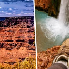 Grand Canyon Park Warns Hikers It's So Hot Boots Are Literally Melting