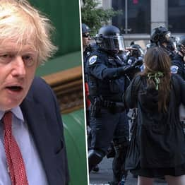 Boris Johnson Says USA Is 'Bastion Of Peace And Freedom' Amid Black Lives Matter Protests