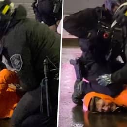 Seattle Cop Removes His Colleague's Knee From Man's Neck During Arrest