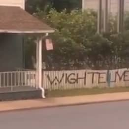Spray Painter Caught Writing 'Wighte Lives Matter' On Fence In Pennsylvania