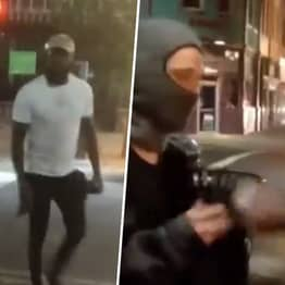 UFC Star Jon Jones Confronts Vandals And Makes Them Hand Over Spray Can