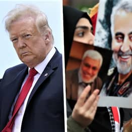 Iran Issues Arrest Warrant For Donald Trump Over Fatal Drone Strike
