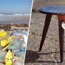 Designers Turn Reclaimed Plastic Waste From Ocean Into Furniture