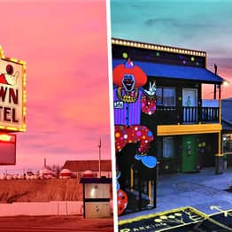 Creepy Clown Motel Built Next To A Cemetery Is America's Scariest Place To Stay