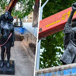 Black Lives Matter Protester Statue Removed From Bristol After Less Than 24 Hours