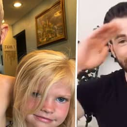 Captain America Sends Message To Heroic Boy Who Saved His Little Sister From Dog Attack