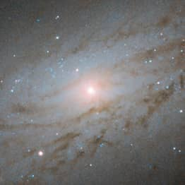 NASA Spots Galaxy Moving Away From Earth At 3.5 Million Miles Per Hour