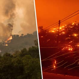 More Than 10,000 Lightning Strikes Have Sparked Wildfires Across California