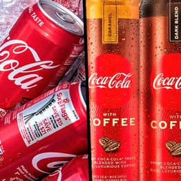 Coca-Cola Is Releasing A New Coffee-Infused Soft Drink In The US In 2021