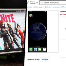 People Are Selling iPhones With Fortnite Installed For $18,000 On eBay