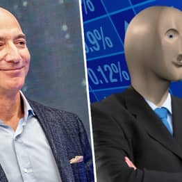 People Can't Get Over How Much Jeff Bezos Looks Like The Stonks Meme Guy