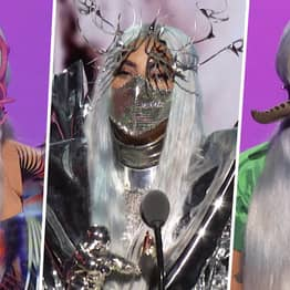 Lady Gaga Wore A Ridiculous Number Of Face Masks To The VMAs Last Night