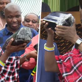 Miner Who Became Millionaire After Finding Rare Gem Finds Another Stone Worth Millions In Tanzania