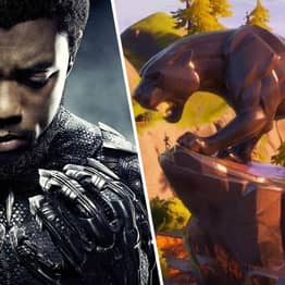 Fortnite Fans Pay Tribute To Chadwick Boseman At New Black Panther Statue