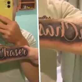 Virginia Teen Left Furious When 'Dream Chaser' Tattoo Inked Backwards On His Arm