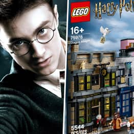 LEGO Has Released A 5,544-Piece Harry Potter Diagon Alley Set