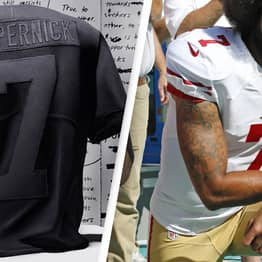 Replica Colin Kaepernick Jersey Marks Four Years Since He Took A Knee