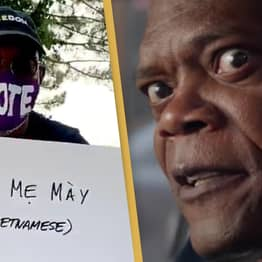 Samuel L. Jackson Swears In 15 Languages To Encourage People To Vote