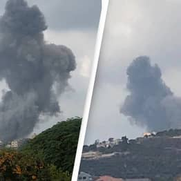 Lebanon Hit By Another Explosion At Suspected Hezbollah Arms Depot
