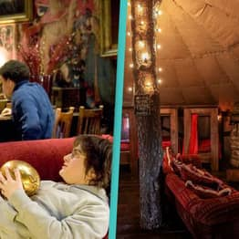 Harry Potter Fans Can Stay In A Cottage That Looks Just Like Gryffindor's Common Room