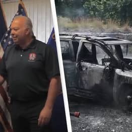 Hero Teen Saves Woman And Her Three Kids From Burning Car In Connecticut