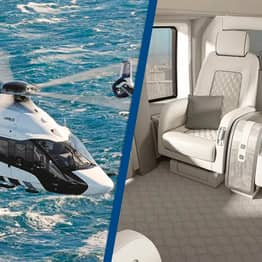 Luxury $14 Million Helicopter Is Like A Hotel Suite In The Sky
