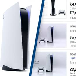 Scalpers Are Already Selling PS5s For £7,000 On eBay