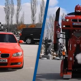 Turkish Company Makes Real-Life Transformer Out Of A BMW