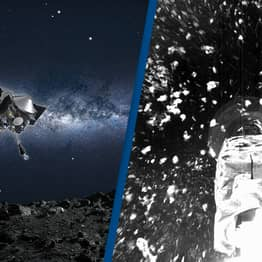 Incredible Photos Show Historic Moment NASA Landed On Asteroid