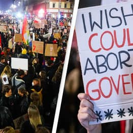 Nearly 100,000 Attend Pro-Choice Protest After Near-Total Ban On Abortions In Poland
