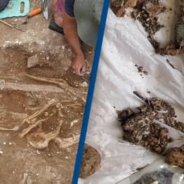 Archaeologists Discover Remains Of Sixth Century Warlord With His Weapons