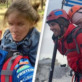 Greek Athlete Carries Disabled Student Up Mount Olympus To Fulfil Her Lifelong Dream