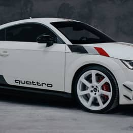 Audi Creates Special Edition TT RS To Celebrate 40 Years Of Quattro