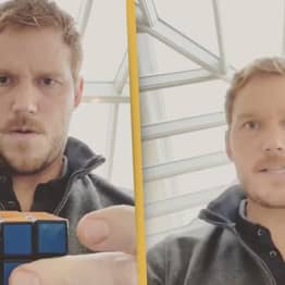 Chris Pratt Just Solved A Rubik's Cube In Less Than 60 Seconds