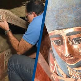Egypt Unearths 'Huge Number' Of Ancient Coffins Buried More Than 2,500 Years Ago